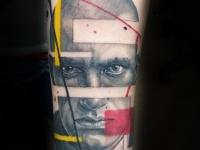 Стилизованный портрет Маяковского